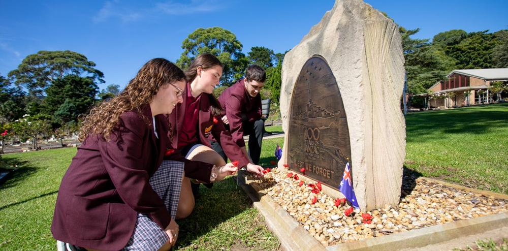 ANZAC Day memorial service