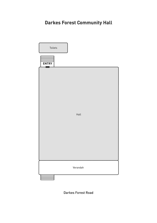 Darkes Forest Community Hall Floor Plan