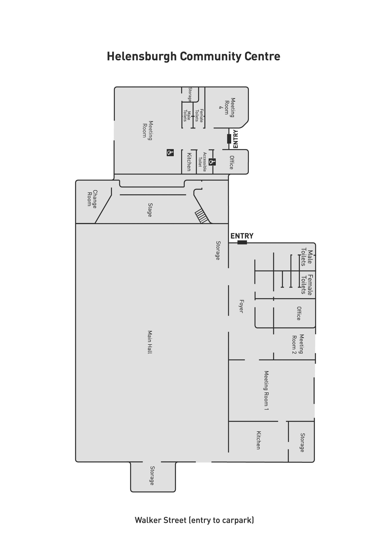 Helensburgh Community Centre Floorplan