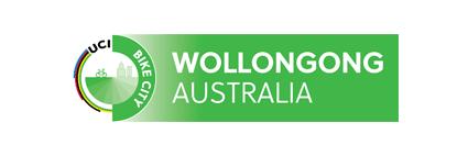 UCI Bike City Wollongong Australia Logo